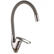 Смеситель/кухня Rainsberg R3193-5 с гибким изливом серый